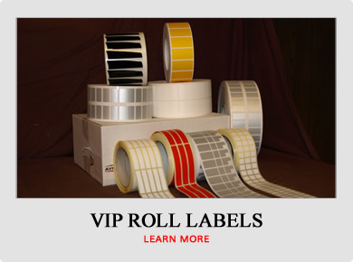 VIP Roll Labels