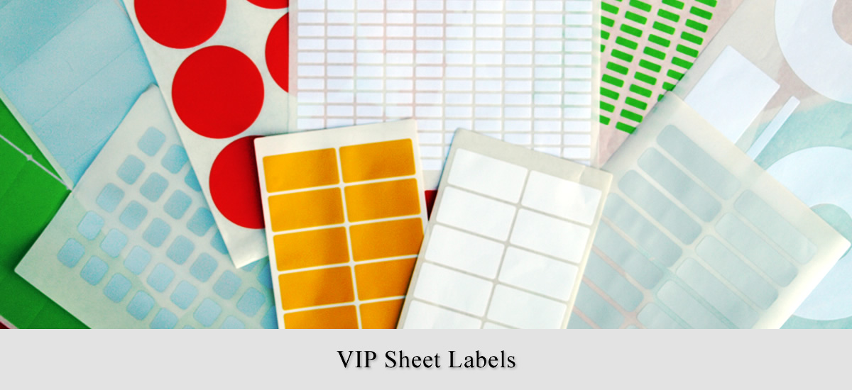 VIP Sheet Labels by Avonclyde Ltd